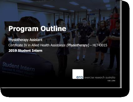 Allied Health Internship Program Outline